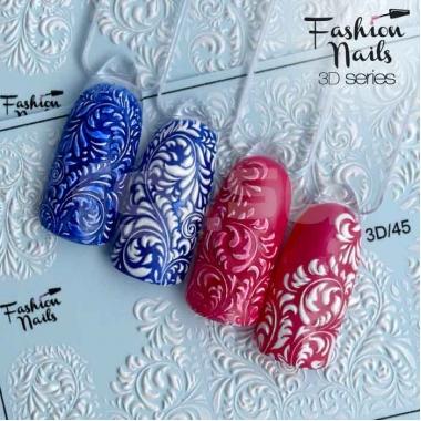 Слайдер-дизайн Fashion Nails 3d45