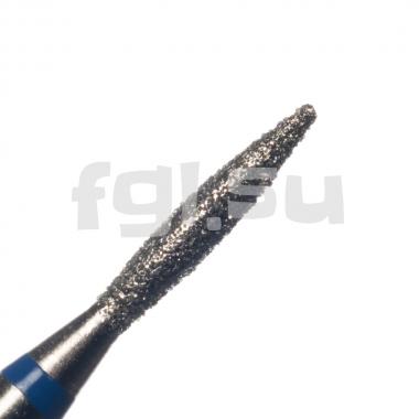 Фреза алмазная пламя D-1.6мм средняя Россия(47)