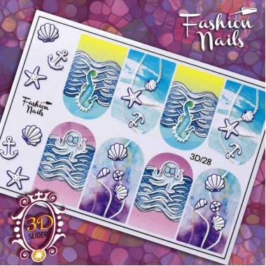 Слайдер Fashion Nails 3d28