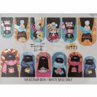 Слайдер-дизайн Fashion Nails m141