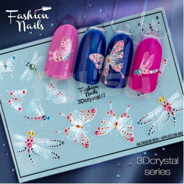 Слайдер Fashion Nails 3d crystal7