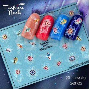 Слайдер Fashion Nails 3d crystal9