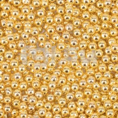 Бульонки металлические золото 0,6мм