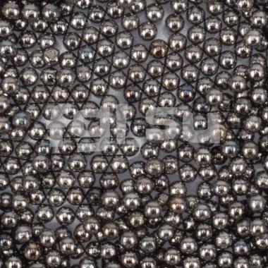 Бульонки металлические серые 0,6мм