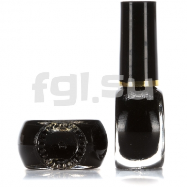 Краска для стемпинга №002 черная
