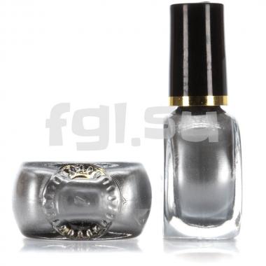 Краска для стемпинга №003 серебро