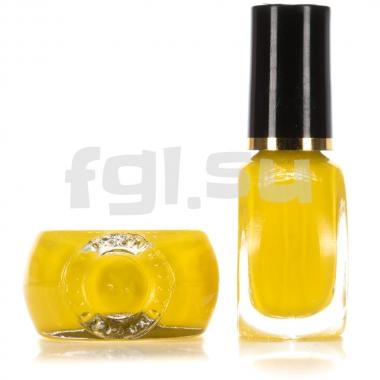 Краска для стемпинга №009 желтая
