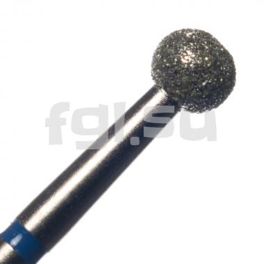 Фреза алмазная шар D-4мм средняя Россия(53)