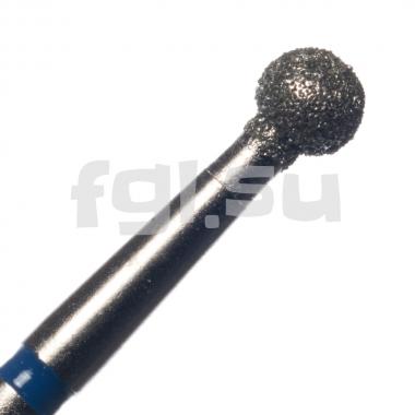 Фреза алмазная шар D-3.3мм средняя Россия(54)
