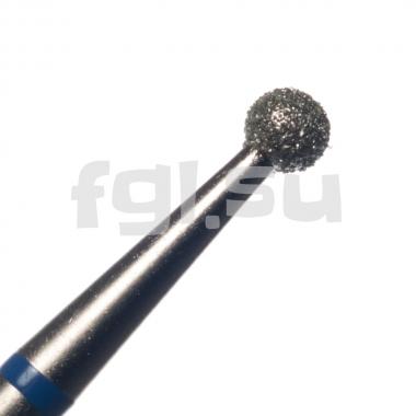 Фреза алмазная шар D-2.5мм средняя Россия(38)