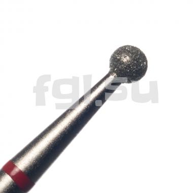 Фреза алмазная шар D-2.3мм мягкая Россия(41)