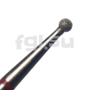 Фреза алмазная шар D-1.8мм мягкая Россия(42)