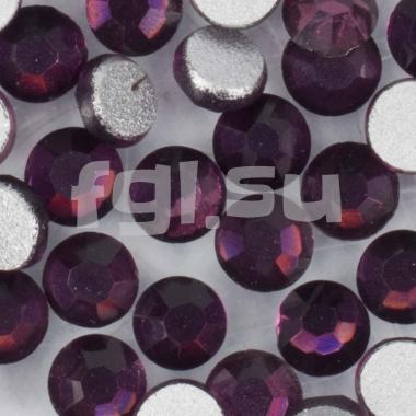 Стразы фиолетовые №6 100шт