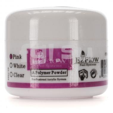 Акриловая пудра розовая 8г EZFLOW (крупный помол)