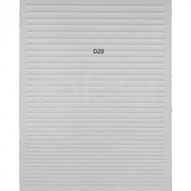 Ленты гибкие белые D20(N4)