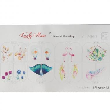 Слайдер-дизайн Lucky Rose 2Fingers12