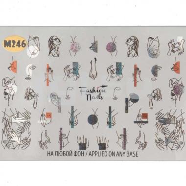 Слайдер-дизайн Fashion Nails m246