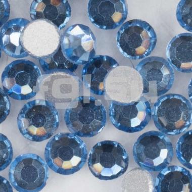 Стразы голубые №5 100шт