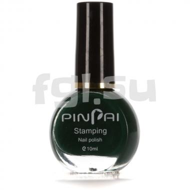 Краска для стемпинга №017 зеленая