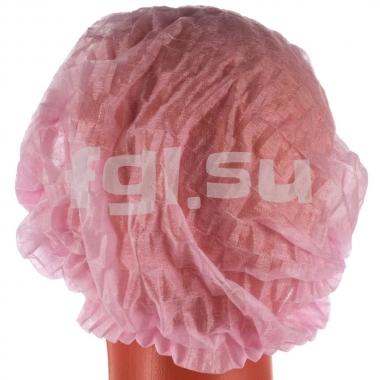 Шапочки розовые Шарлотта 100шт Elegreen
