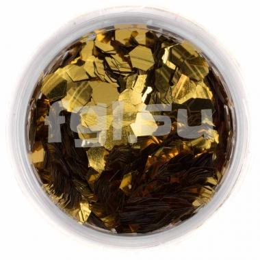 Соты для дизайна золото крупные