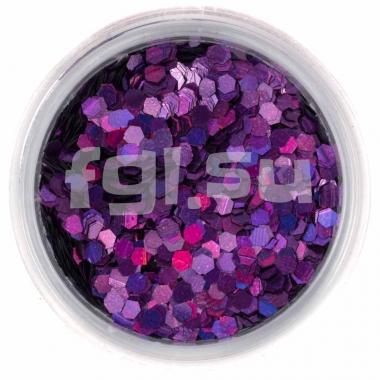 Соты для дизайна фиолетовые