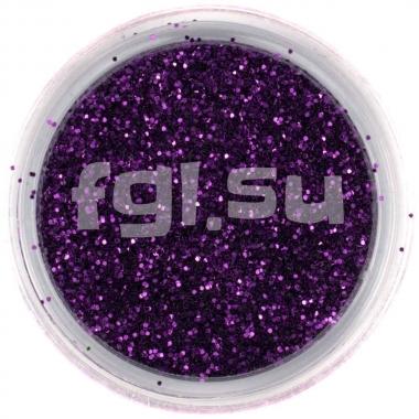 Блестки для дизайна фиолетовые