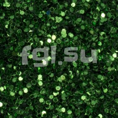 Блестки для дизайна зеленые