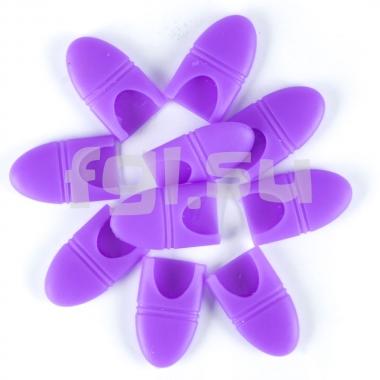 Колпачки силиконовые для снятия гель-лака 10шт