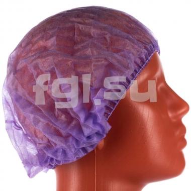 Шапочки фиолетовые Шарлотта 100шт Elegreen