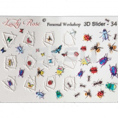 Слайдер Lucky Rose 3d34