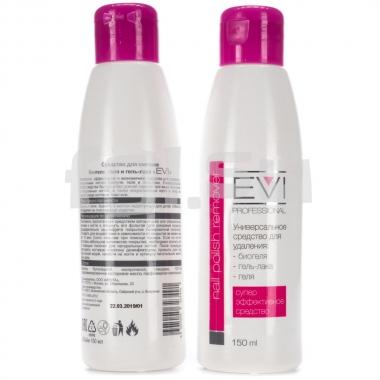 Средство для снятия биогеля, геля, гель-лака 150мл EVI professional