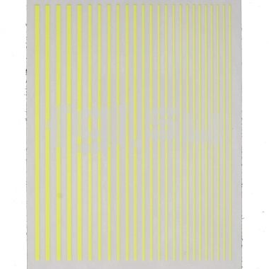 Ленты гибкие желтые(N10)
