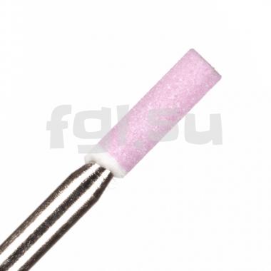 Фреза корундовая цилиндр (розовая) 2мм