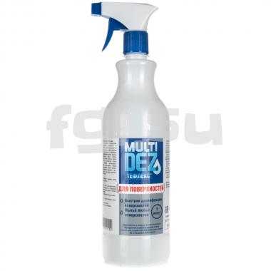 MultiDEZ тефлекс для дезинфекции и мытья поверхностей (триггер) 1000мл