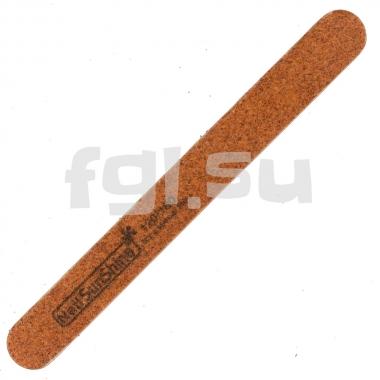 Пилка 120/180 тонкая на деревянной основе SunShine