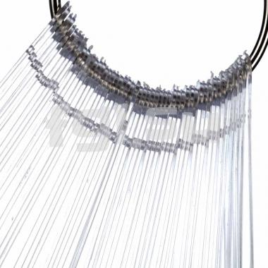 Палитра веер миндаль прозрачная 50 делений