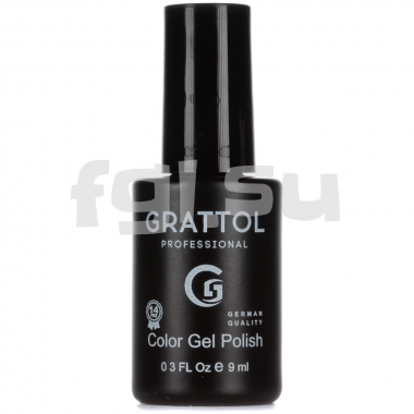 Гель-лак Grattol Color 035 9мл PASTEL LEMON