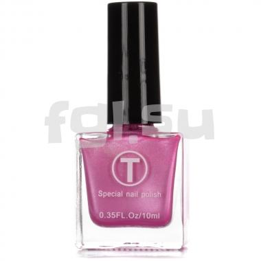 Краска для стемпинга №030 перламутро-розовая 10мл T