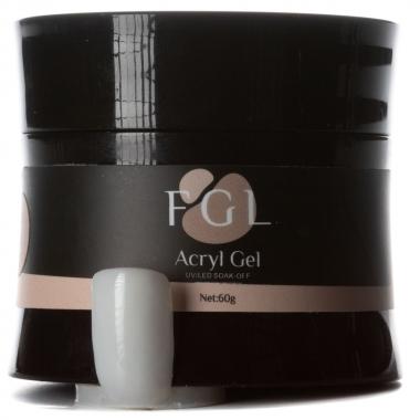 Акригель Acryl gel 007 15мл FGL молочный