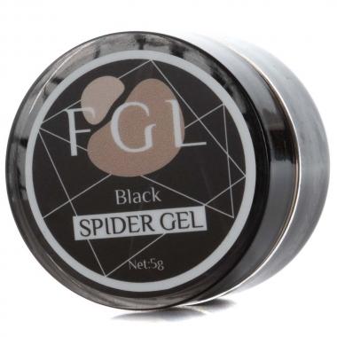 Spider gel (гель-паутинка) 5мл FGL черная