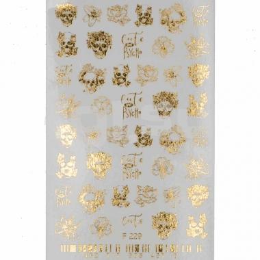 Слайдер-дизайн MILV F229 золото