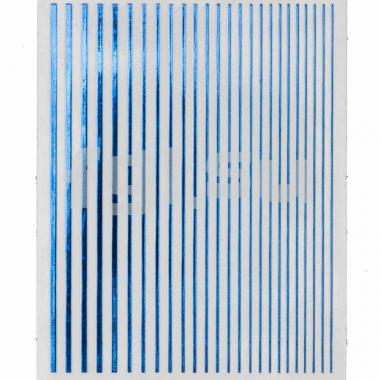 Ленты гибкие синие голографические