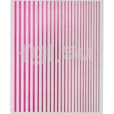 Ленты гибкие розовые голографические