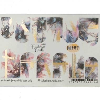 Слайдер-дизайн Fashion Nails m297