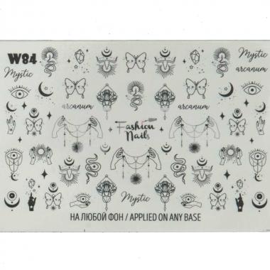 Слайдер-дизайн Fashion Nails w84
